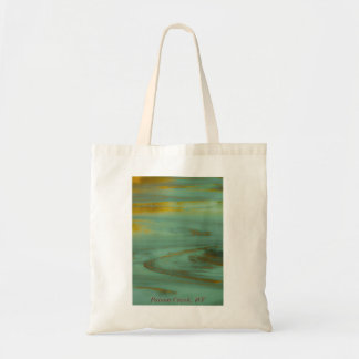 Poison Creek Wyoming Abstract Photography Design Tote Bag