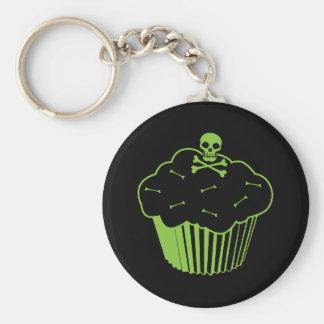 Poison Cupcake Key Chain
