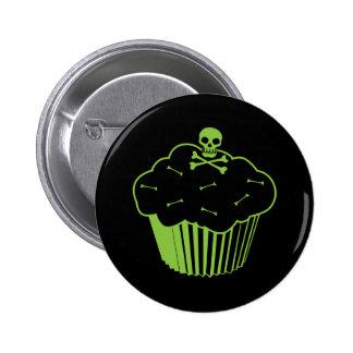 Poison Cupcake Pinback Button