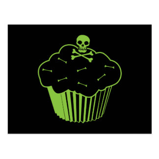 Poison Cupcake Post Card