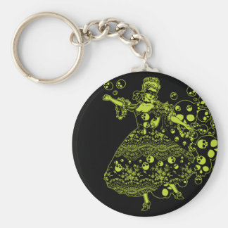 Poison Dancer Basic Round Button Keychain