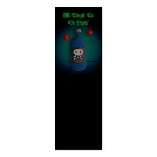 Poison - Dark Derek Mini Business Card