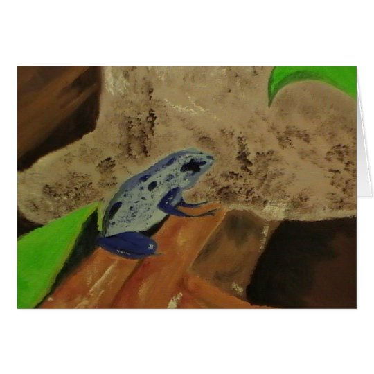 Poison Dart Frog # 1 Card