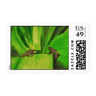Poison Dart Frog # 2 Stamp