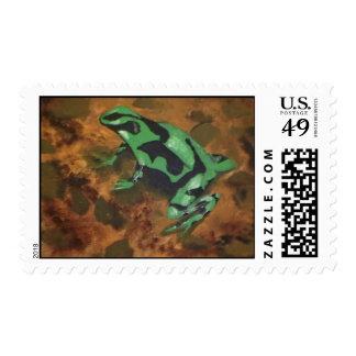 Poison Dart Frog # 5 Postage Stamp