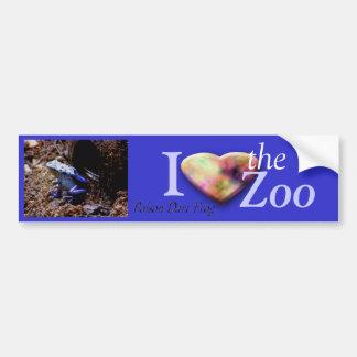 Poison Dart Frog Bumper Sticker