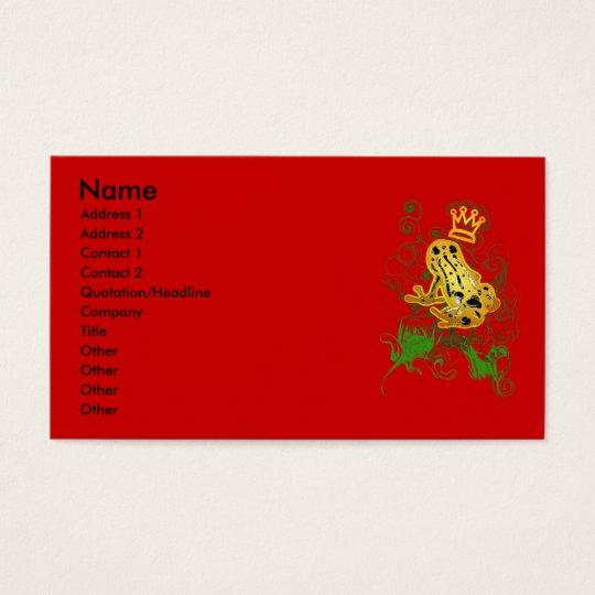 Poison_dart_frog Business Card