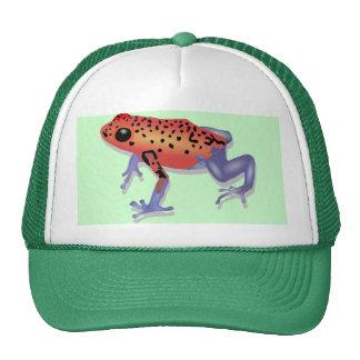 Poison Dart Frog Hats