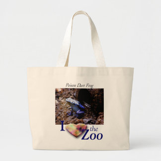 Poison Dart Frog Large Tote Bag