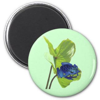 Poison Dart Frog 2 Inch Round Magnet