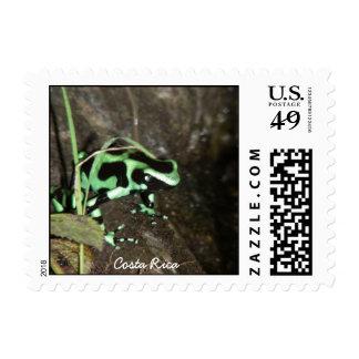 Poison Dart Frog Postage