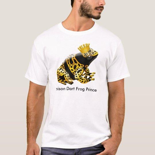 Poison Dart Frog Prince T-Shirt