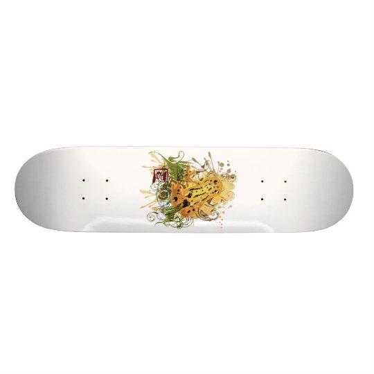 Poison_dart_frog Skateboard Deck