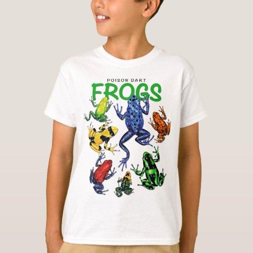 Poison Dart Frog T_shirt