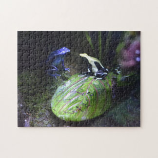 Poison Dart Frogs Jig Saw Puzzle