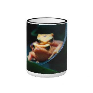 Poison Dart Frogs Ringer Mug