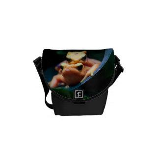 Poison Dart Frogs Wildlife Animal Photo Messenger Bags