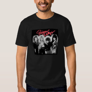 Poison Dollys mens t-shirt: black Tee Shirt
