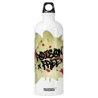 Poison Free Straight Edge Aluminum Water Bottle