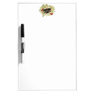 Poison Free Straight Edge Dry-Erase Whiteboard