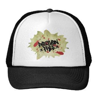 Poison Free Straight Edge Trucker Hat