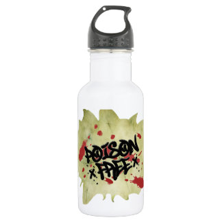 Poison Free Straight Edge Water Bottle