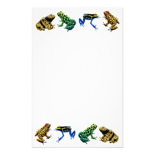 Poison Frogs Stationery