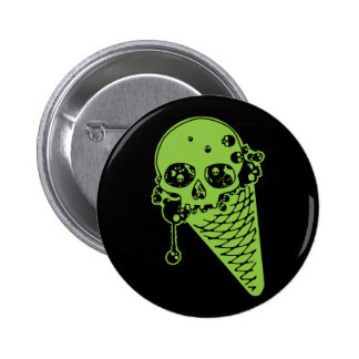 Poison Ice Cream Cone Button