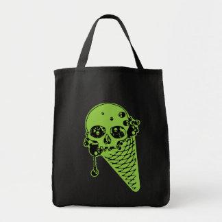 Poison Ice Cream Cone Tote Bag