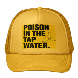 Poison in the water trucker hat