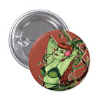 Poison Ivy Bombshell 1 Inch Round Button