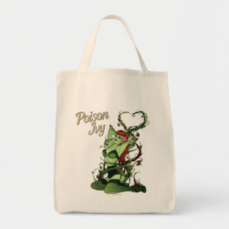 Poison Ivy Bombshell Grocery Tote Bag