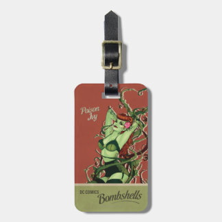 Poison Ivy Bombshell Bag Tag
