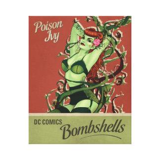 Poison Ivy Bombshell Canvas Print