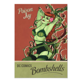 Poison Ivy Bombshell Card
