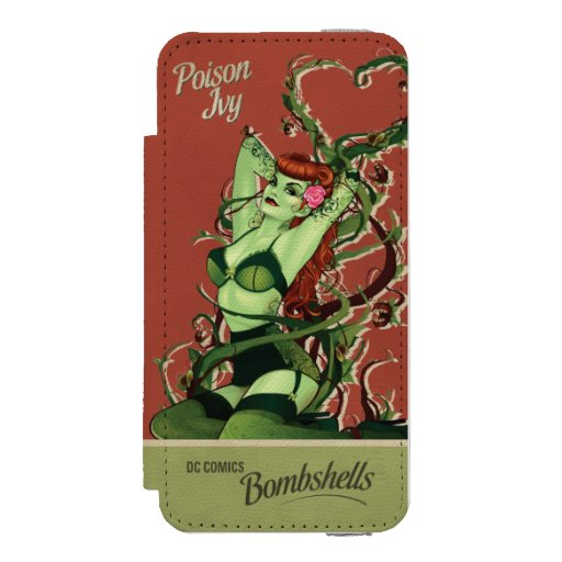 Poison Ivy Bombshell iPhone SE/5/5s Wallet Case