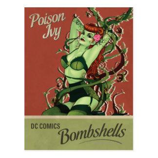 Poison Ivy Bombshell Postcard