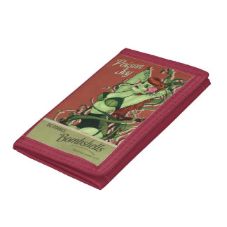 Poison Ivy Bombshell Trifold Wallets