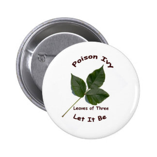 Poison Ivy Button