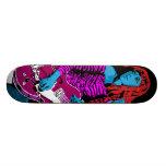 Poison Ivy Custom Skateboard