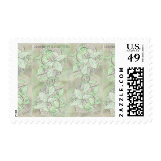 Poison Ivy Postage Stamp
