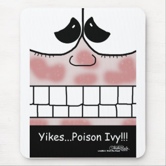 Poison Ivy Rash Mouse Pad