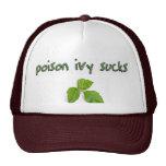 Poison Ivy Sucks Hat