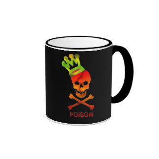 Poison King Skull Design Coffee Mug