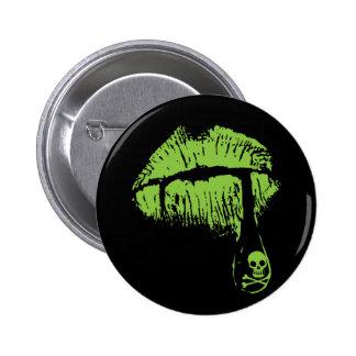 Poison Lips Button