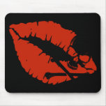 poison lips mouse mats