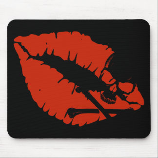 poison lips mouse pad