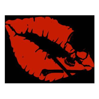 poison lips postcards
