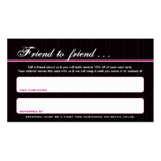 poison lips referral card