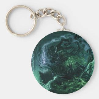 poison mage basic round button keychain